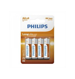 Philips Philips Longlife batterijen AA 4 stuks in blister
