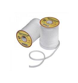 Proplus Fibron koord, gevlochten, 5mm, 20m op een spoel, wit, 410 daN