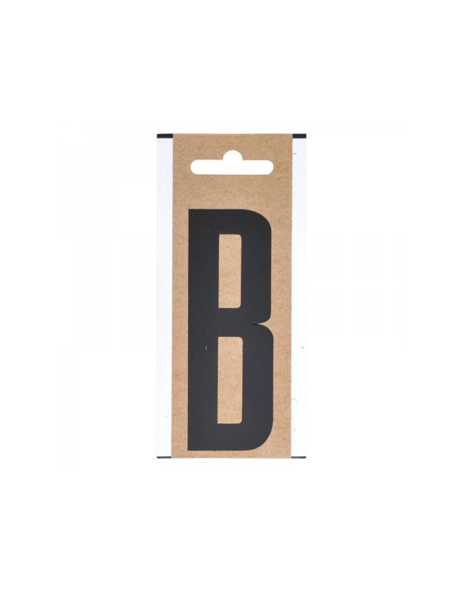 """Letter etiket """" B """" 10cm"""