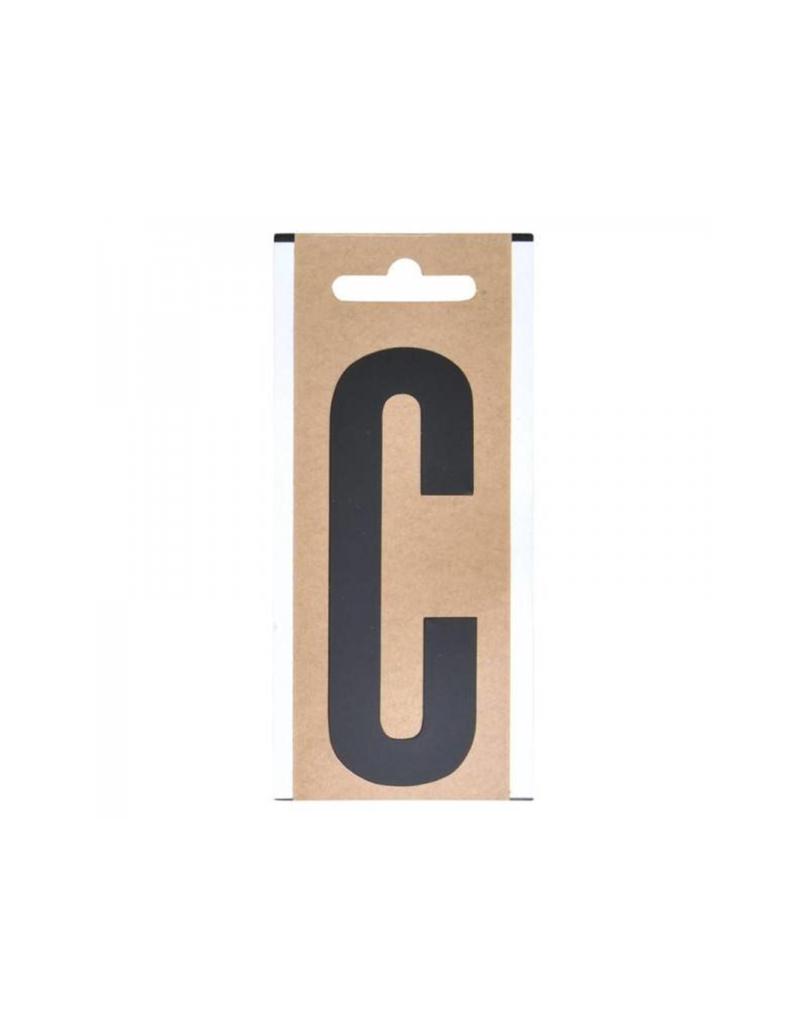 """Letter etiket """" C """" 10cm"""
