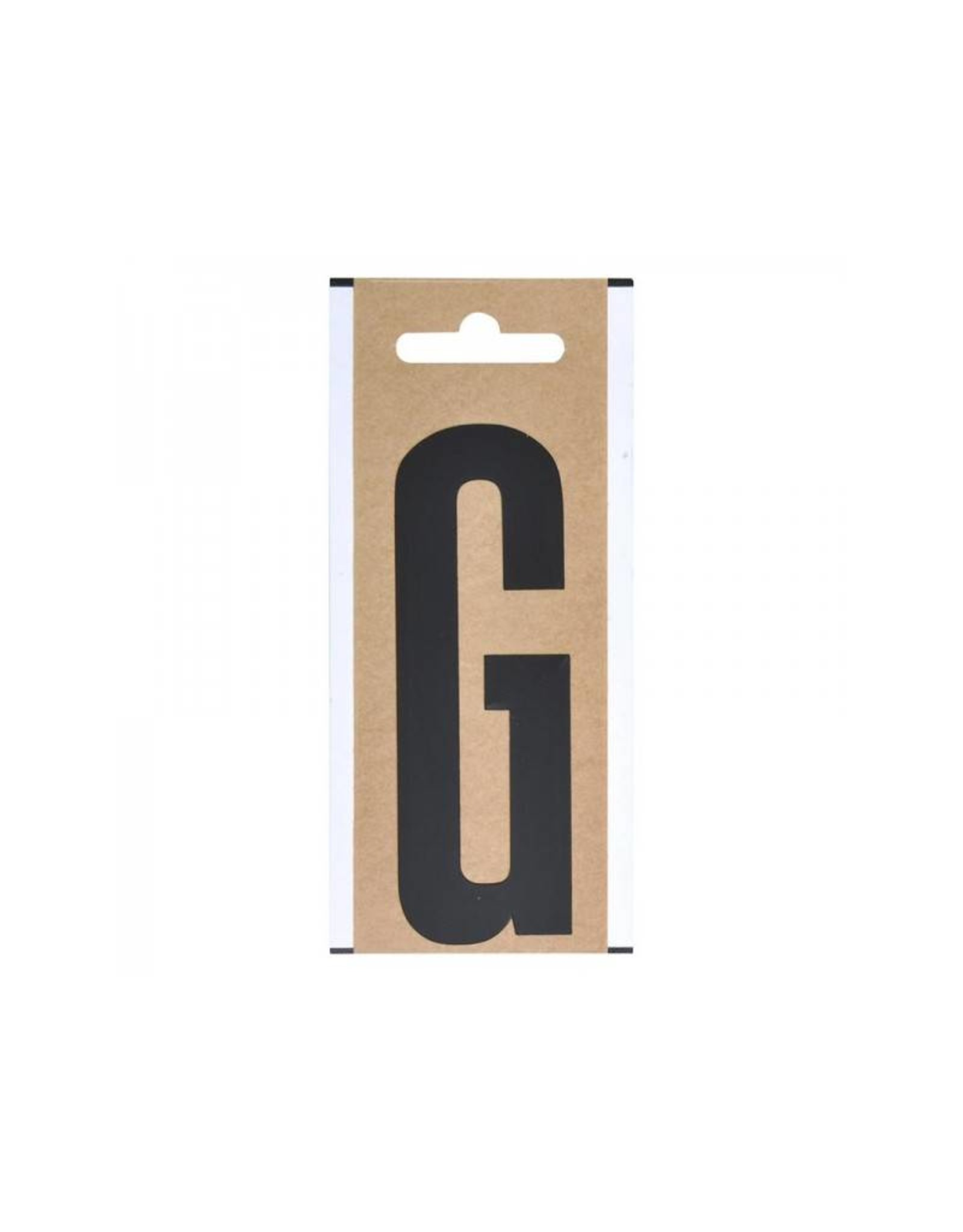 """Letter etiket """" G """" 10cm"""