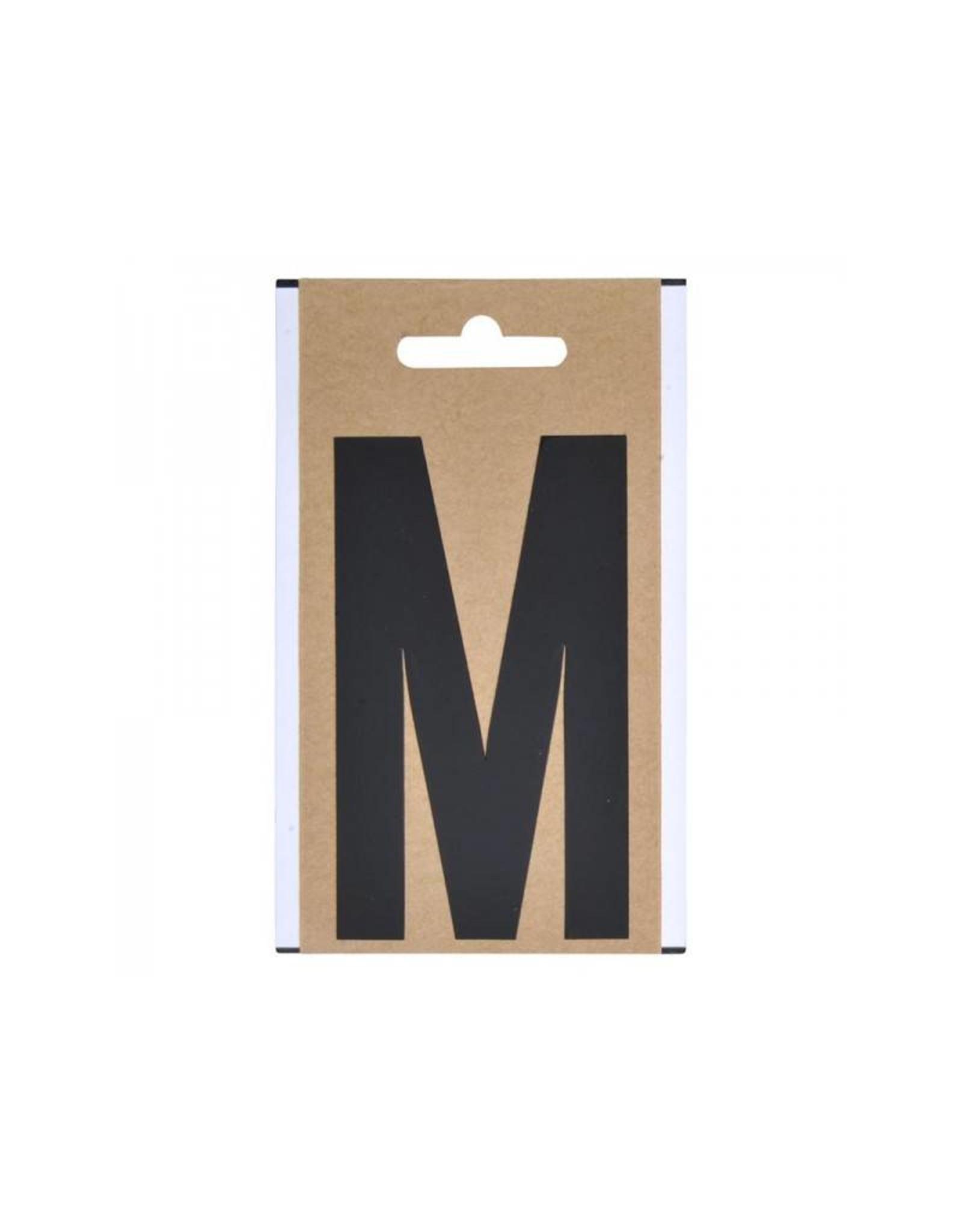 "Letter etiket "" M "" 10cm"