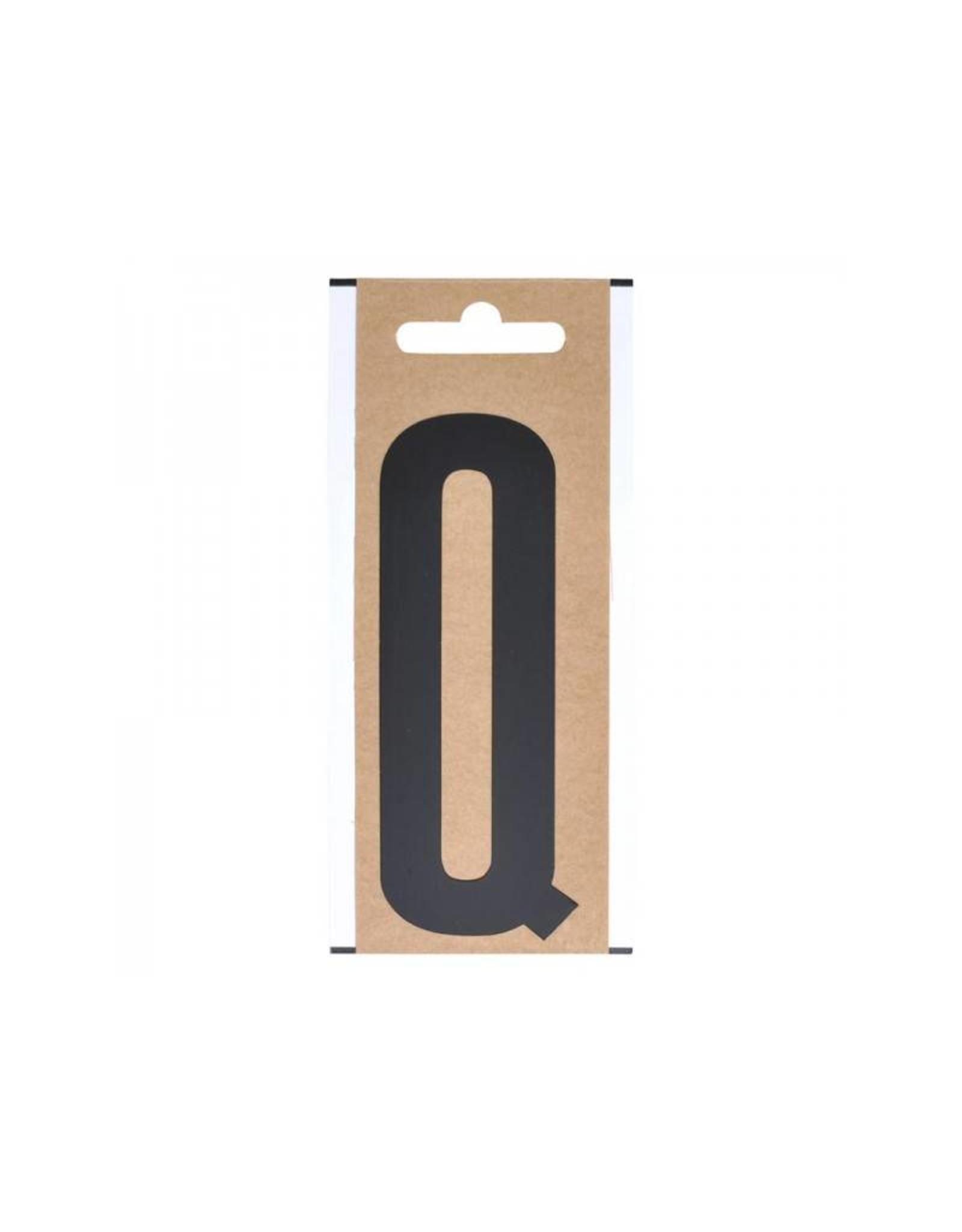 """Letter etiket """" Q """" 10cm"""