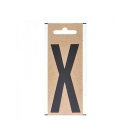 """Proplus Letter etiket """" X """" 10cm"""