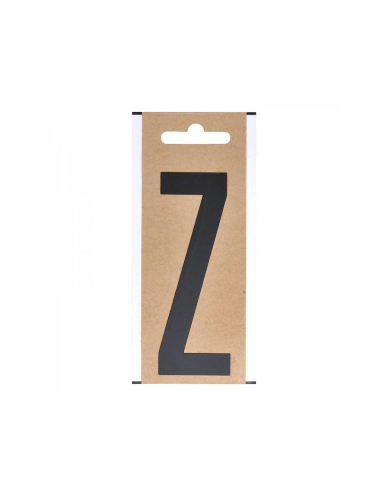 """Letter etiket """" Z """" 10cm"""
