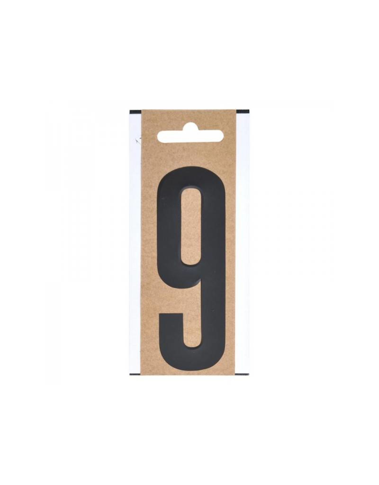 """Cijfer etiket """" 9 """" 10cm"""