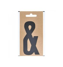 "Letter etiket "" & "" 10cm"