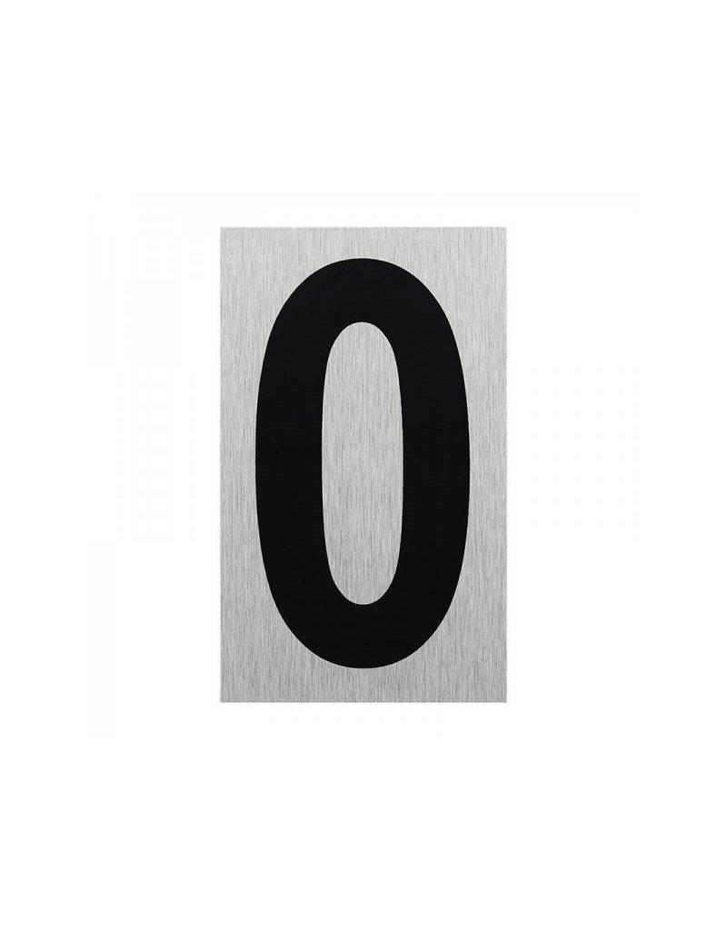 """Aluminium deurbordje """" 0 """" 100x60mm"""