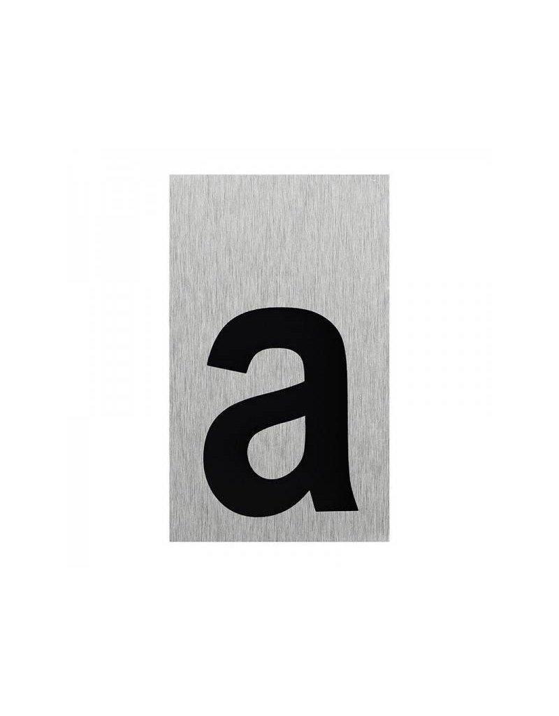 """Proplus Aluminium deurbordje """" a """" 100x60mm"""