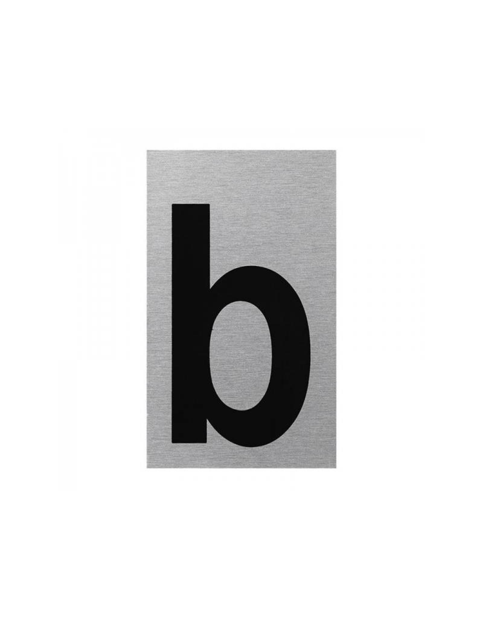"""Aluminium deurbordje """" b """" 100x60mm"""