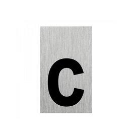 """Aluminium deurbordje """" c """" 100x60mm"""