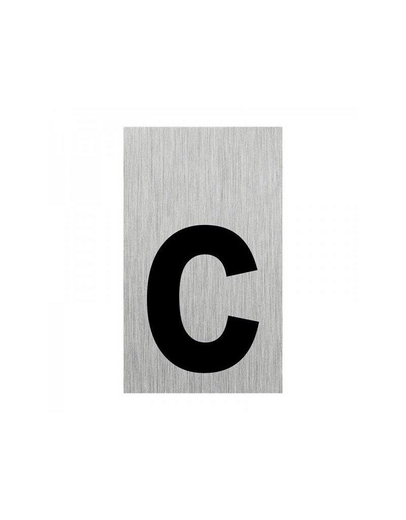 """Proplus Aluminium deurbordje """" c """" 100x60mm"""