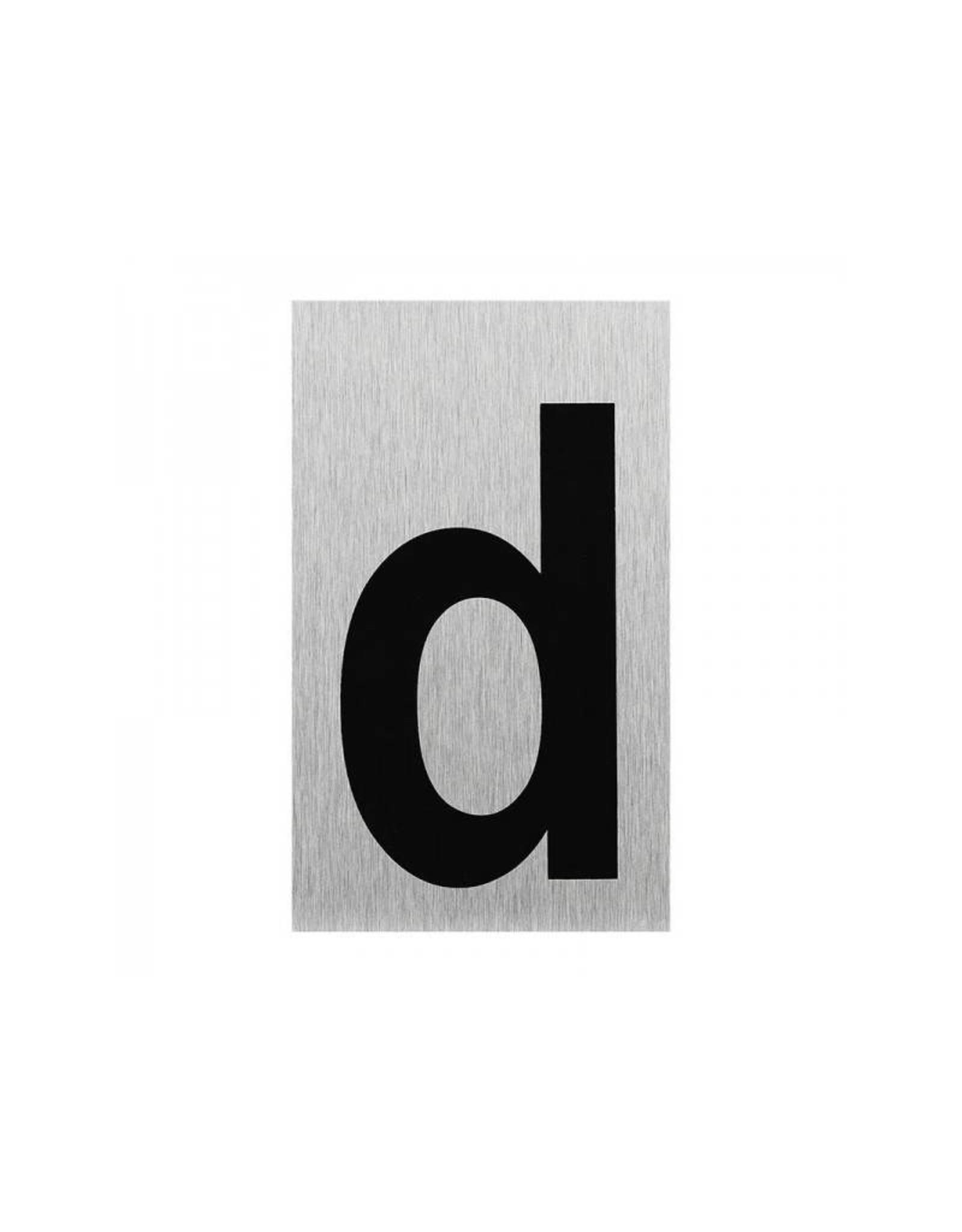 """Aluminium deurbordje """" d """" 100x60mm"""