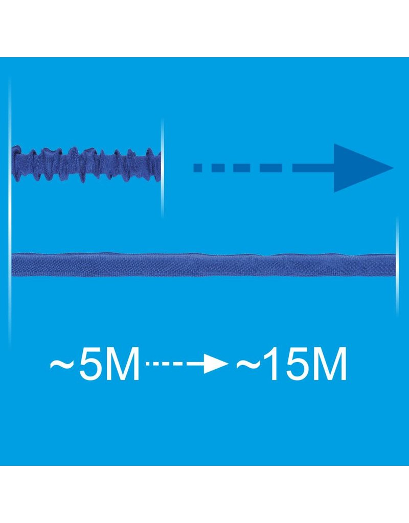 Proplus Uitrekbare waterslang 15 meter met 7 functie spuitpistool