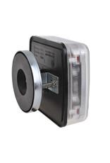 Proplus Aanhangerverlichtingsset LED 4F met magneten 7,5+2,5M kabel 13P.