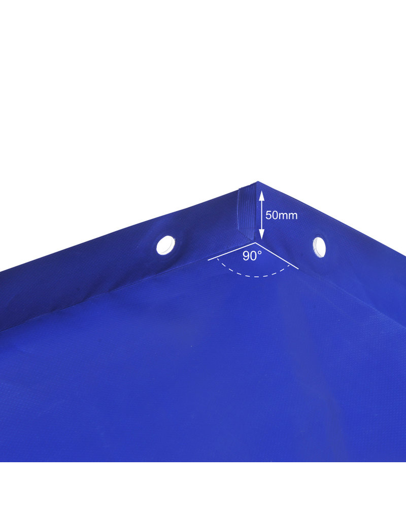 Aanhangerzeil met elastisch koord 2075x1140x50mm