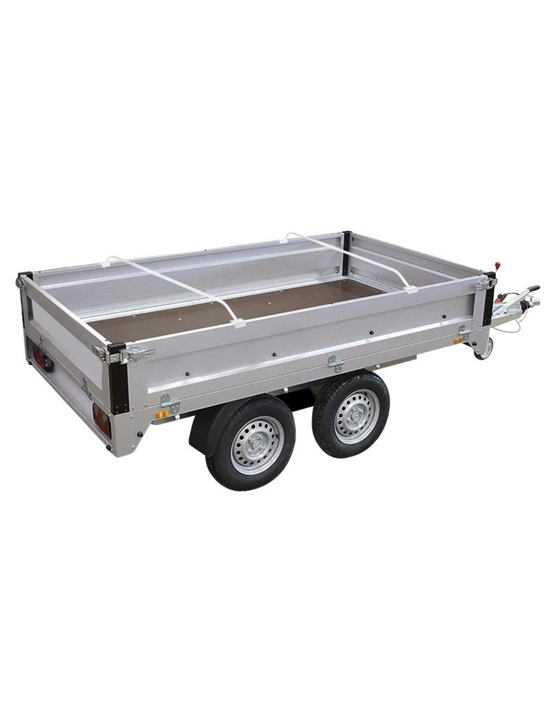 Proplus Drager aluminium uitschuifbaar 132-204cm voor aanhangerzeil
