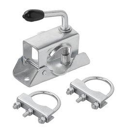 Proplus Klem 48mm voor neuswiel + U-beugel 60/70mm set van 2 stuks
