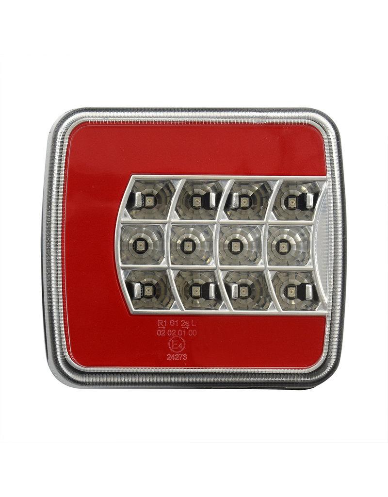 Proplus Achterlicht 4 functies 105x98mm LED + GLOW rechts