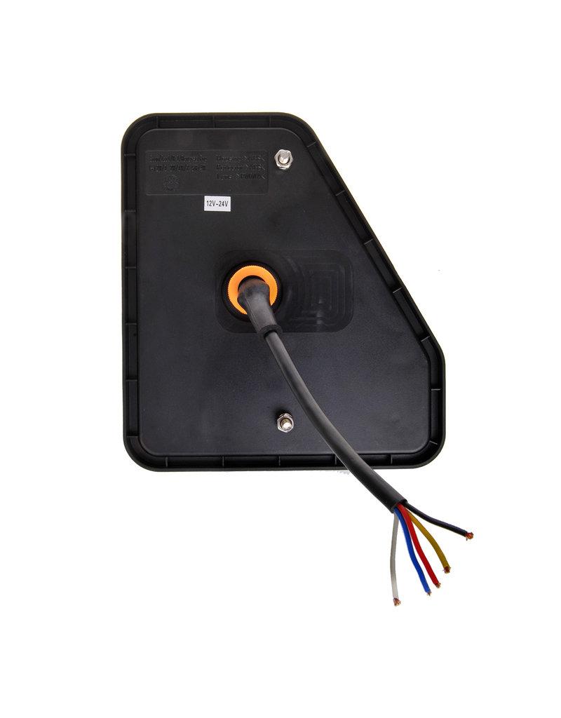 Proplus Achterlicht 5 functies 208x188mm 22LED links UK