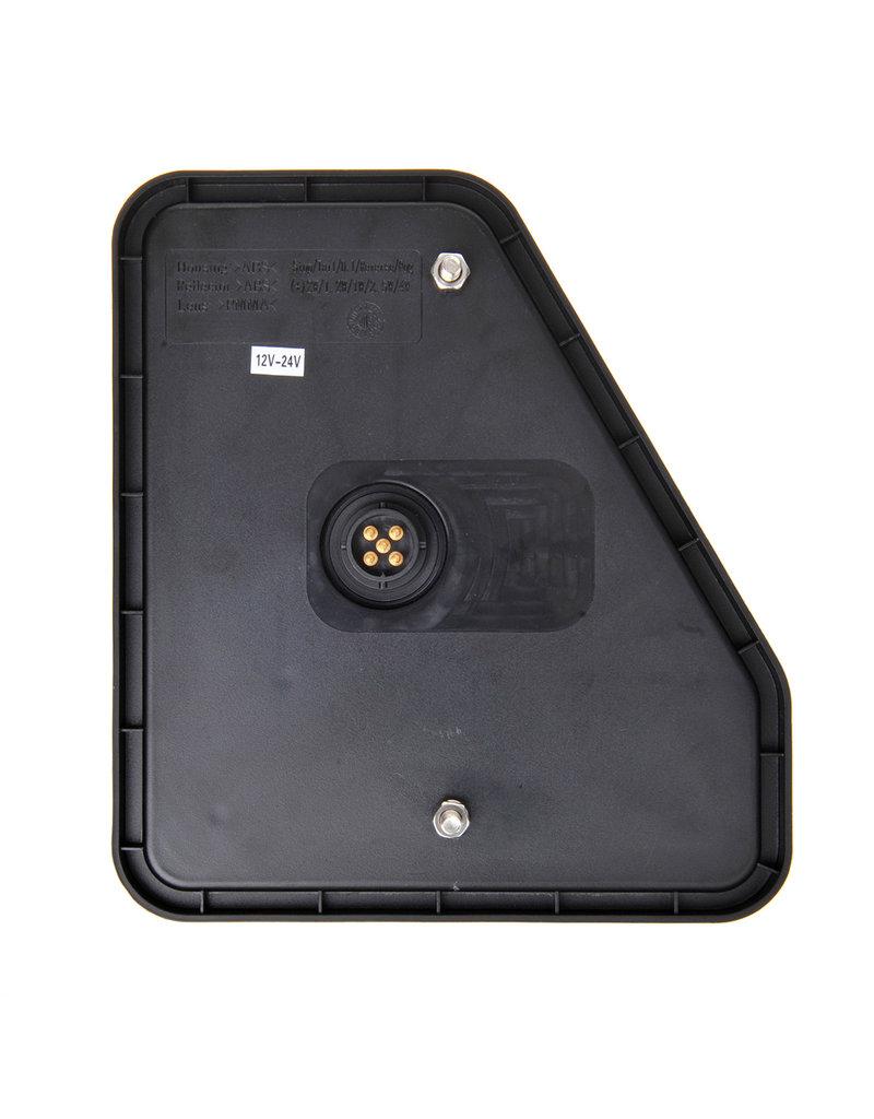 Proplus Achterlicht 5 functies 208x188mm 22LED rechts