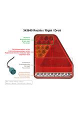 Proplus Achterlicht 5 functies 208x188mm 22LED rechts UK