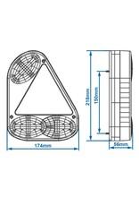 Proplus Achterlicht 5 functies 218x174mm links