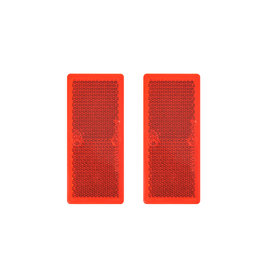 Proplus Reflector rood 82x36mmzelfklevend 2x