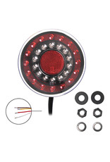 Proplus Achterlicht 12/24V 4 functies 125mm LED