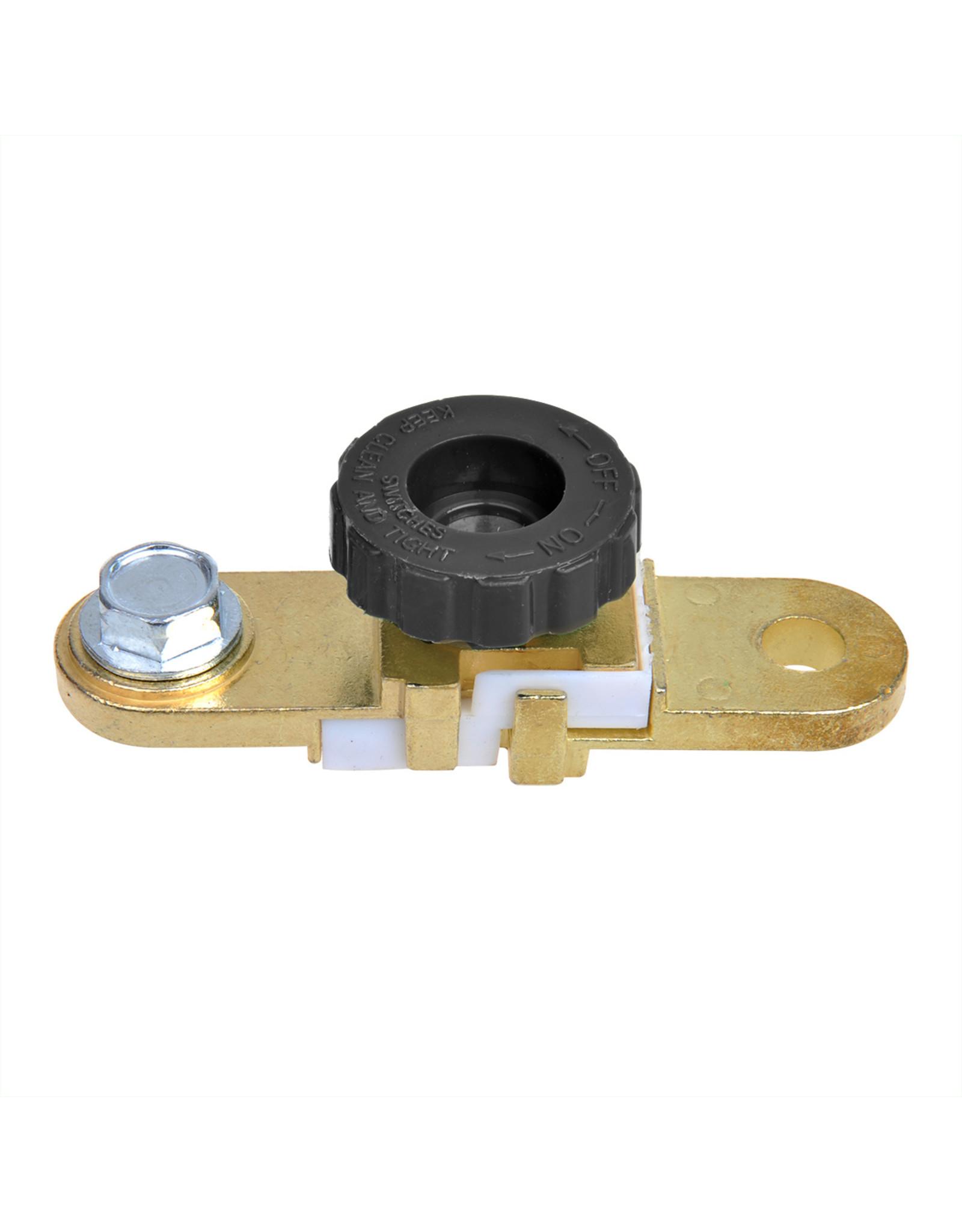 Accupoolklem (-) met stroomonderbreker plat