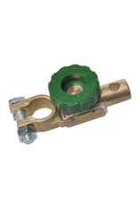 Accupoolklem (-) 17,5mm met stroomonderbreker
