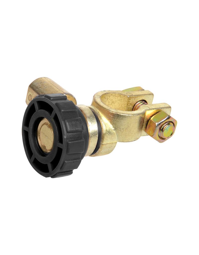 Proplus Accupoolklem (-) met stroomonderbreker rond