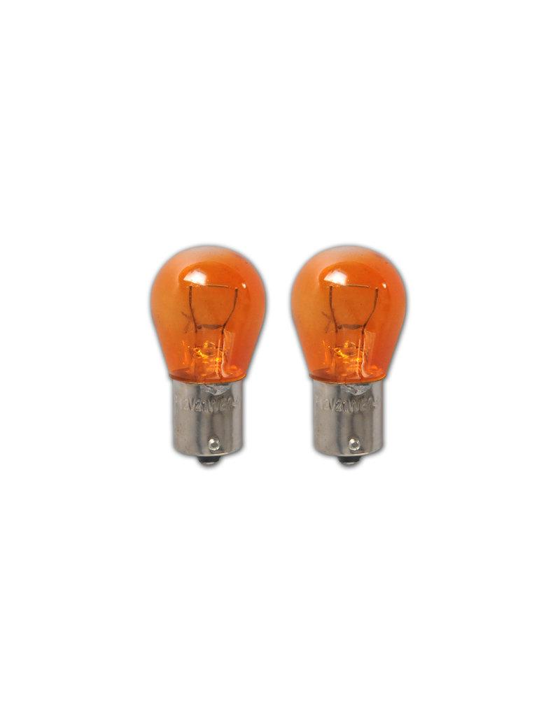 Autolamp 12V 21W BA15s oranje 2x