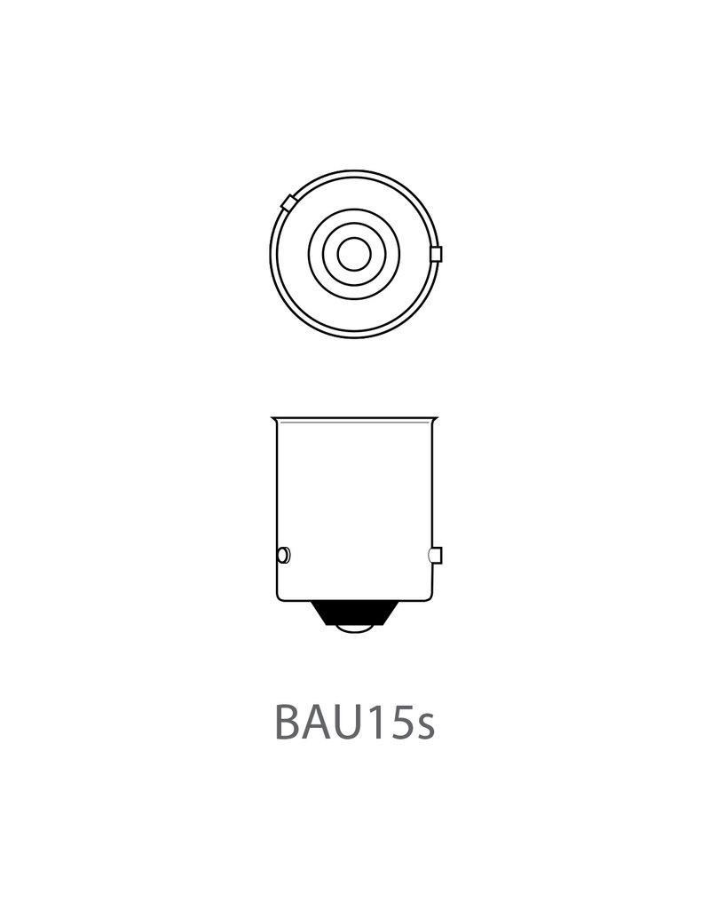 Proplus Autolamp 12V 21W BAU15s oranje 2x