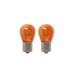 Autolamp 12V 21W BAU15s oranje 2x