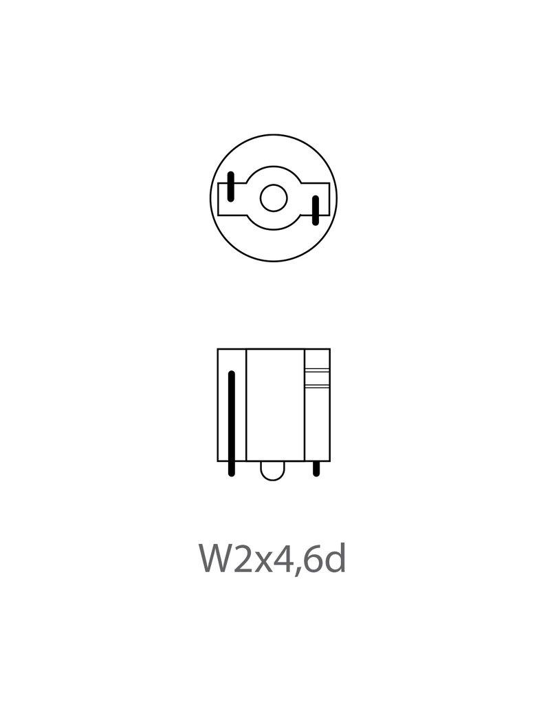 Proplus Autolamp 12V 1,2W T5 W2x4,6d 2x