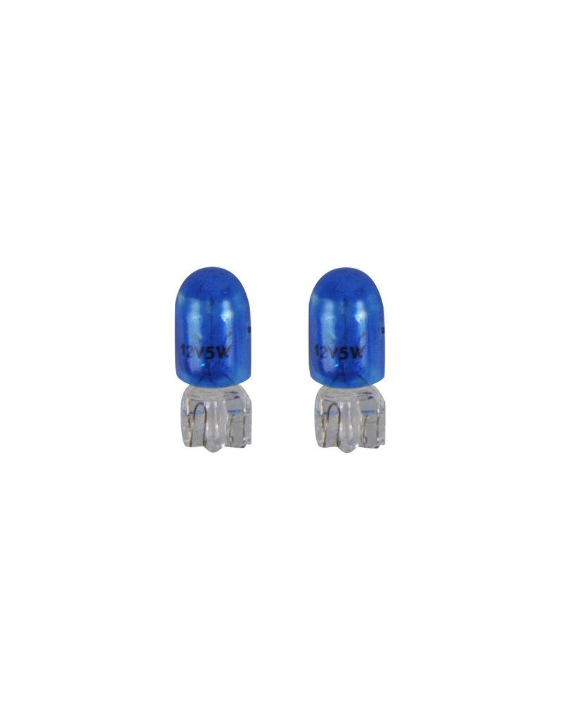 Proplus Autolamp 12V 5W T10 W2,1x9,5d blauw 2x