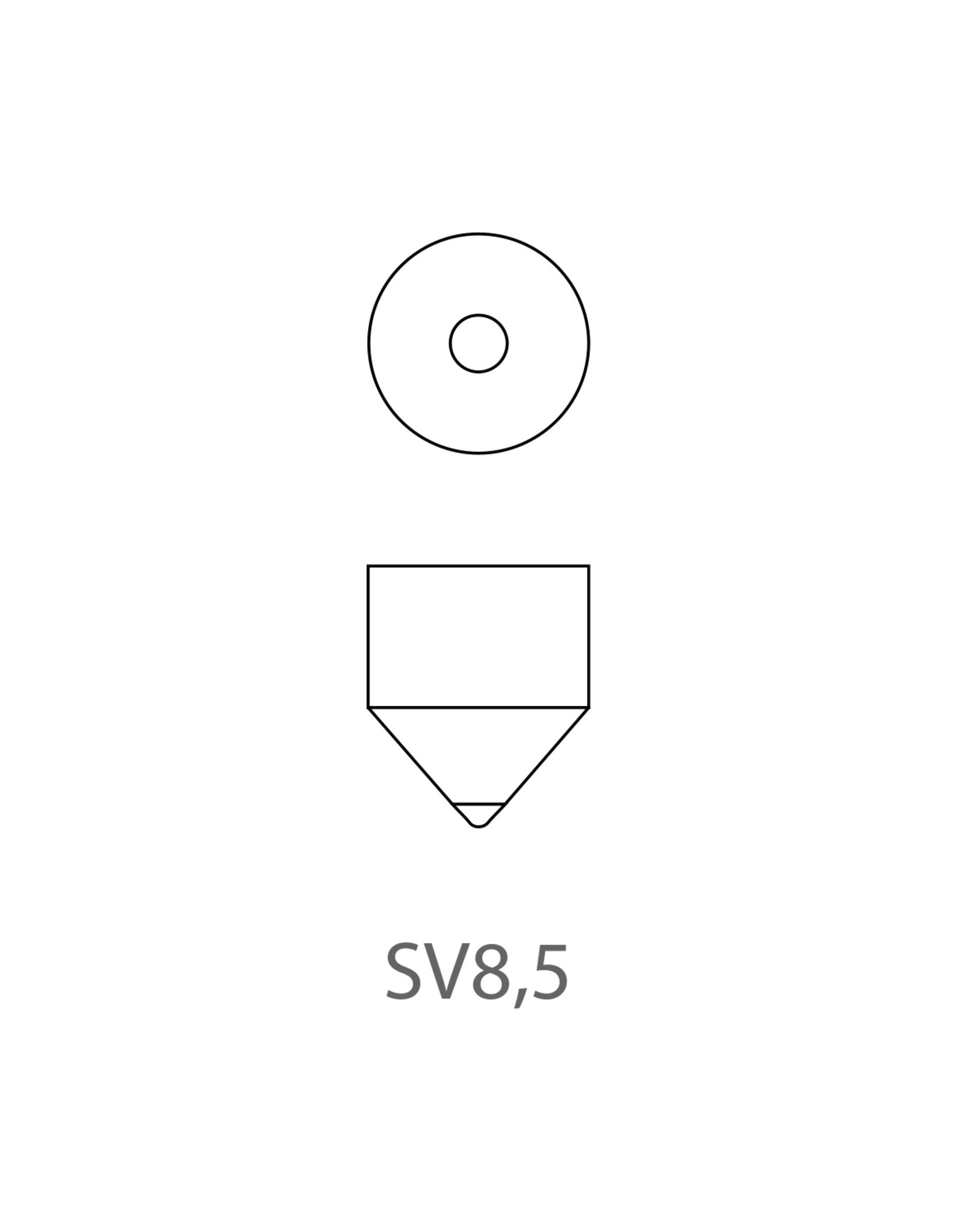 Autolamp 12V 10W SV8,5 11x38 2x