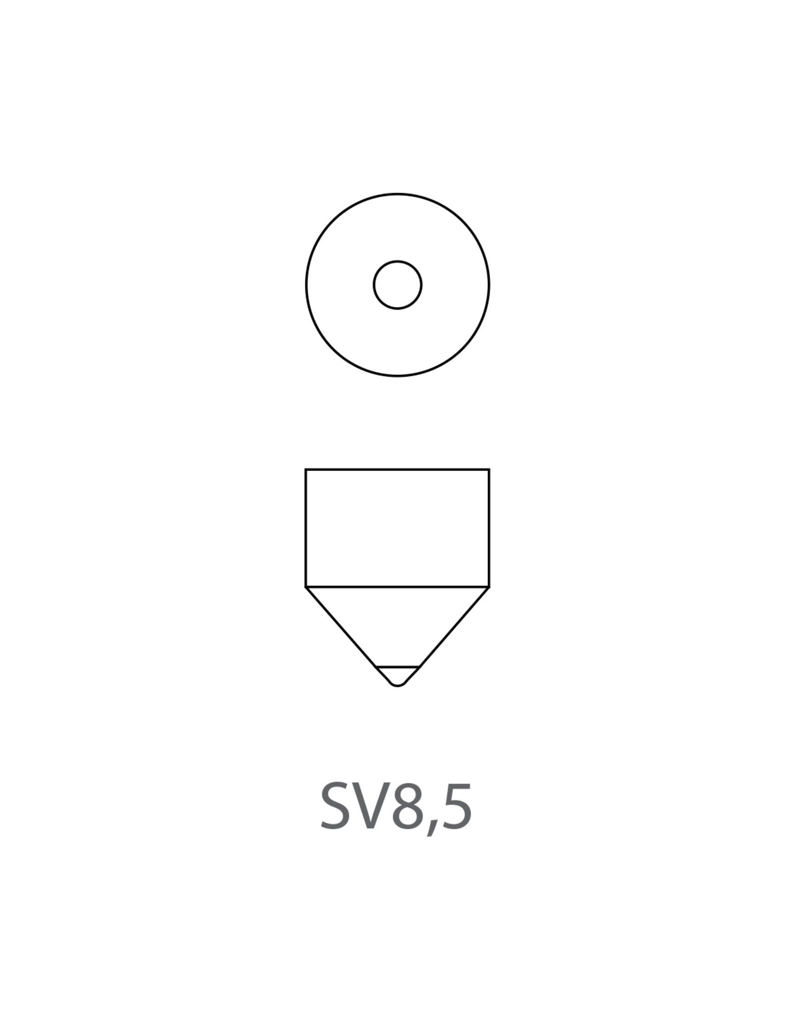 Autolamp 12V 15W SV8,5 15,5x43 2x