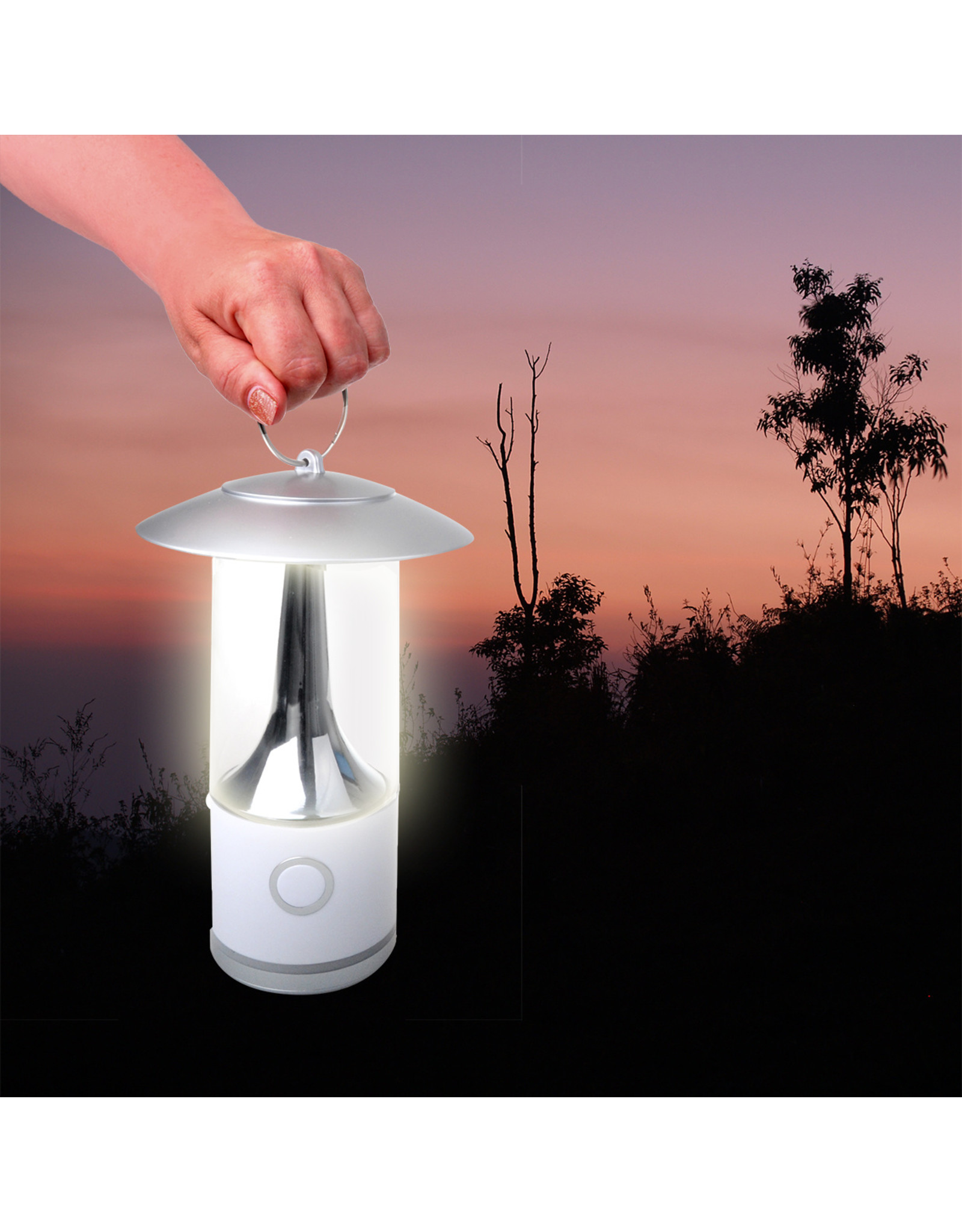 Campinglamp 16leds dimbaar en oplaadbaar
