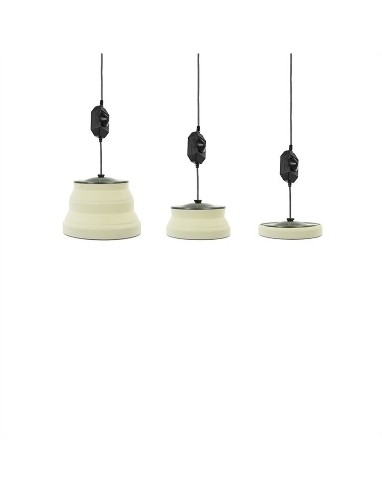 Hanglamp LED opvouwbaar silicone wit ?15cm