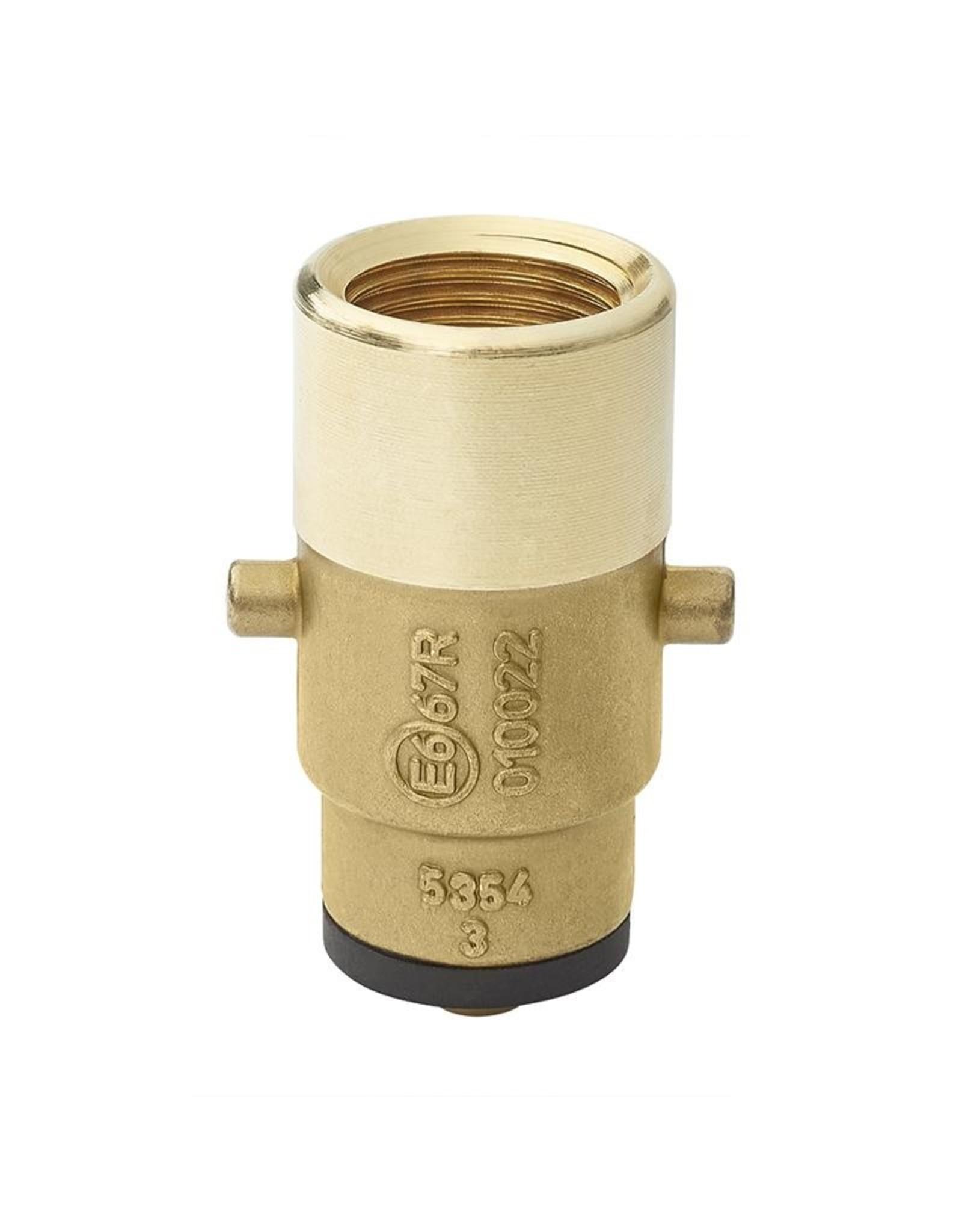 LPG nippel Nederland bajonet 10mm