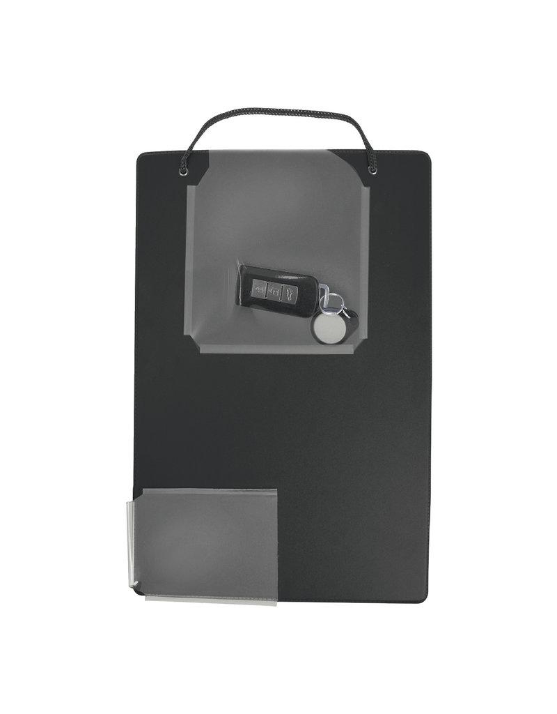 Werkordermap A4 zwart met sleutelvak VE:10st.