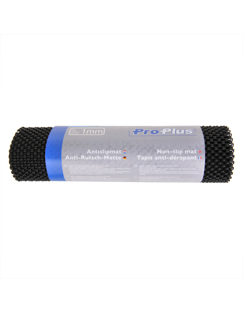 Proplus Anti-slipmat zwart 150x30cm 1mm