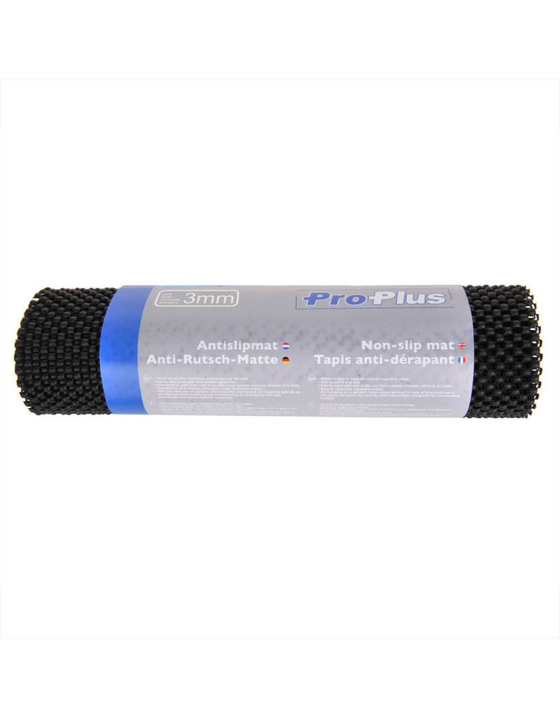 Proplus Anti-slipmat zwart 150x30cm 3mm