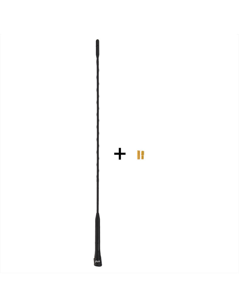 Proplus Auto antenne 40cm incl. M5 & M6 adapters