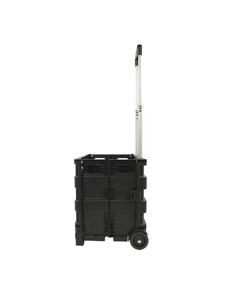 Proplus Transport trolley met inklapbare krat 25kg