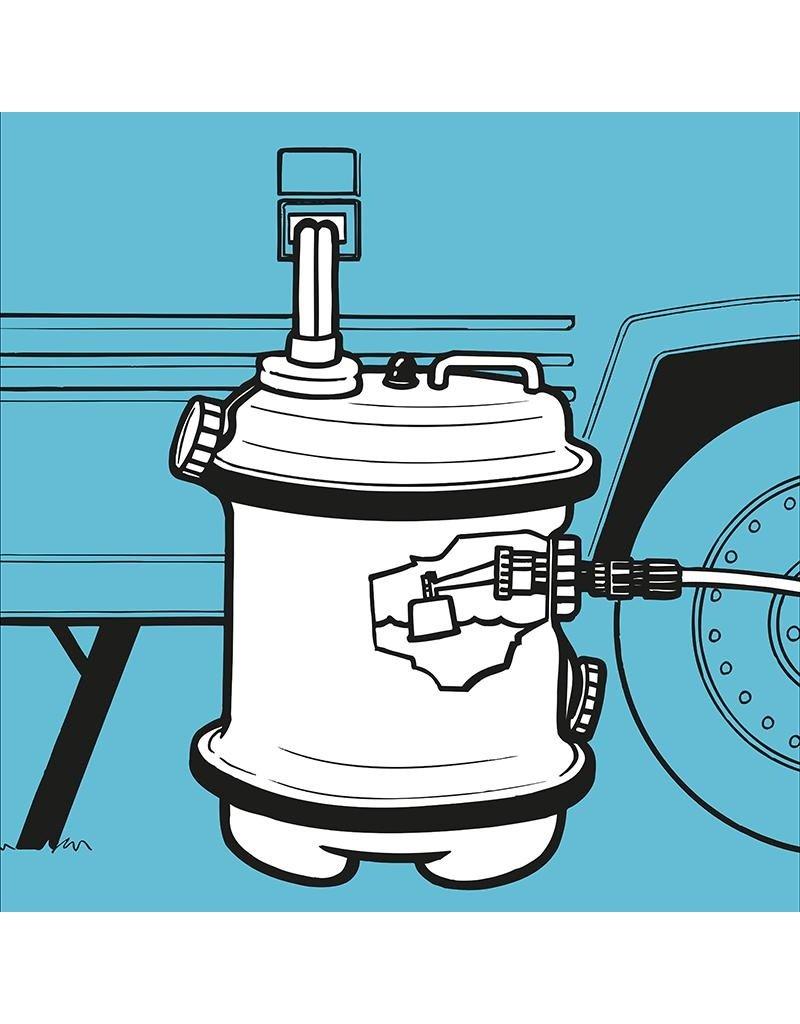 Proplus Aquaroll schoonwatertank 40L beige