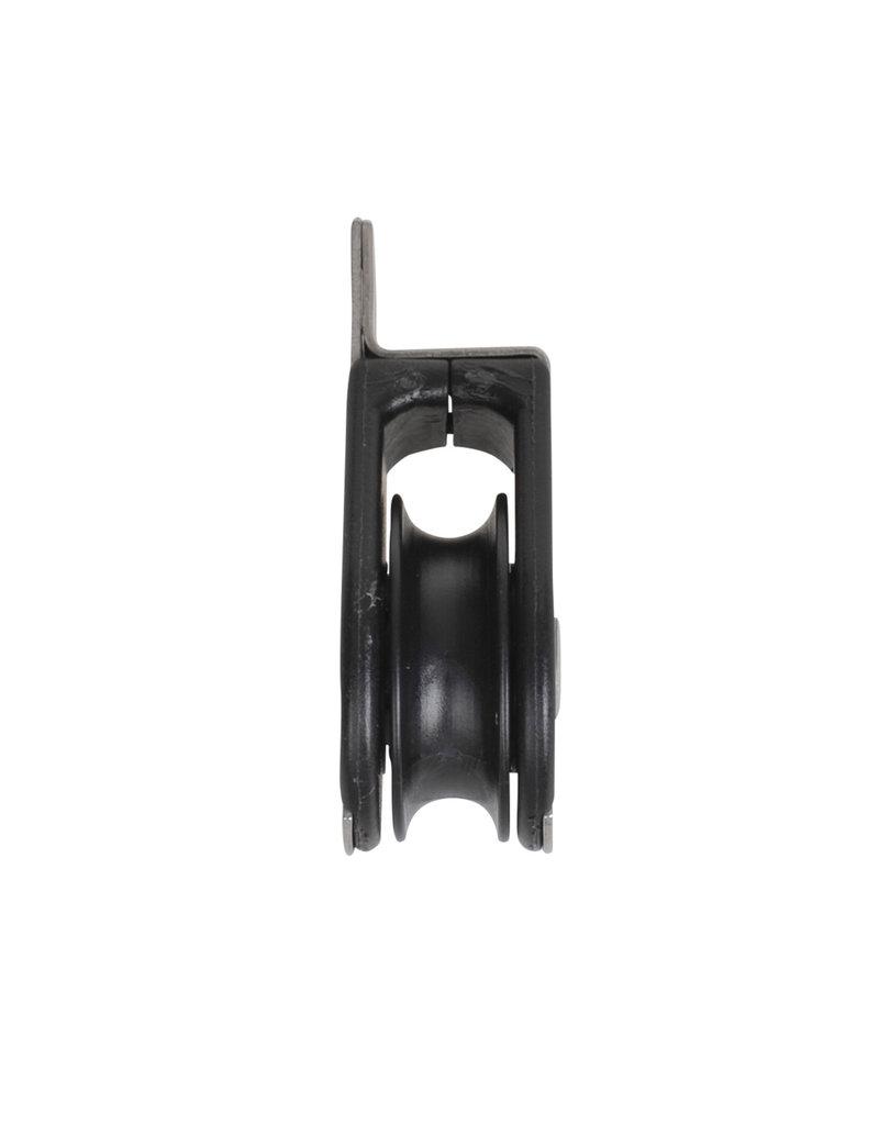 Proplus 1 schijfs dek blok voor 8mm koord, gesloten met kogellager, 750 daN