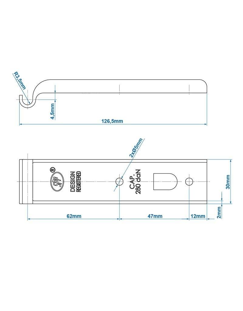 Tegenstuk voor spansluiting SPP Z-01
